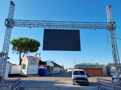 El Ayuntamiento blinda el recinto ferial: cámaras y agentes en las entradas para controlar el aforo