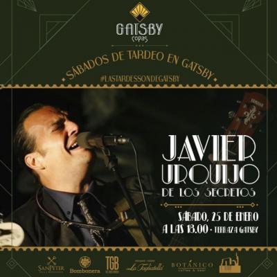 Javier Urquijo actuará en Talavera en 'Terraza Gatsby'