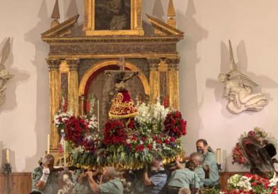 La Legión honró al Cristo de las Maravillas de Segurilla