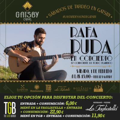 Grupo SanPeter trae a Talavera a Rafa Ruda en concierto