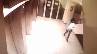 Imagen de la grabación del momento del rapto