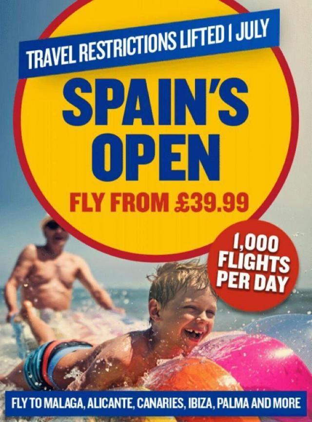 VIRAL   'Spain's open' (España está abierta), la campaña de Ryanair que no gusta a todos
