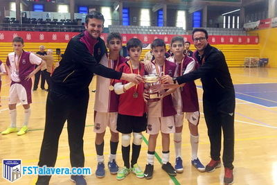 La cantera del Soliss FS Talavera tuvo parte destacada en el Nacional Infantil de El Ejido