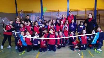 Semana del deporte en el colegio Juan Ramón Jiménez
