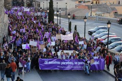Archivo - Manifestación del 8M en Toledo - PLATAFORMA 8M TOLEDO