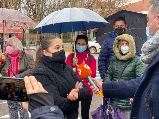 TALAVERA | Malestar entre los familiares de la residencia de mayores: 'No nos han informado de nada'