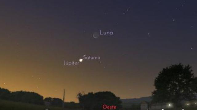 LA ESTRELLA DE LA NAVIDAD   Júpiter y Saturno se unirán en el cielo
