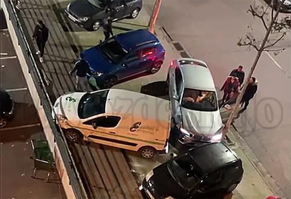 TALAVERA | Sorprendente accidente en una concurrida avenida de la ciudad