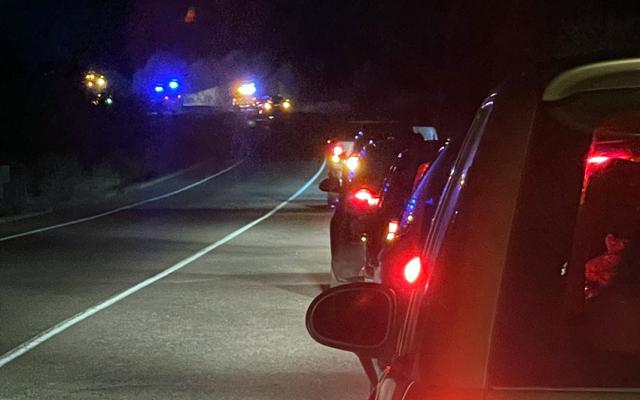 Accidente múltiple en una carretera muy cerca de Talavera