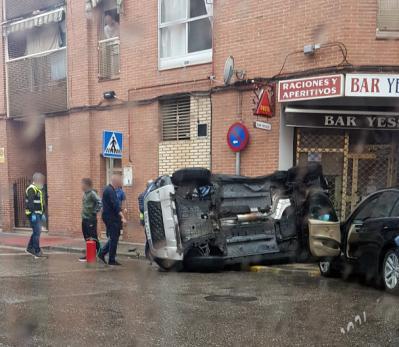 SUCESOS | Espectacular accidente de tráfico en Talavera (VIDEO)