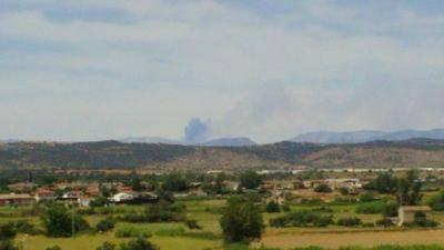 El incendio de la sierra de Gredos, está ''prácticamente'' estabilizado