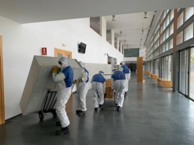 CORONAVIRUS | La Facultad de Medicina de Albacete como dispositivo sanitario