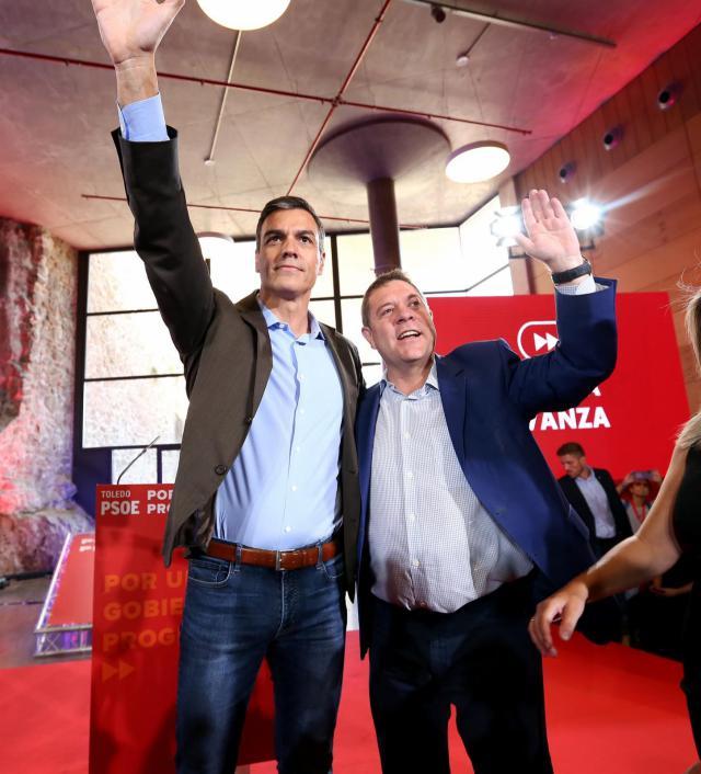 Pedro Sánchez exhibe la unidad del PSOE