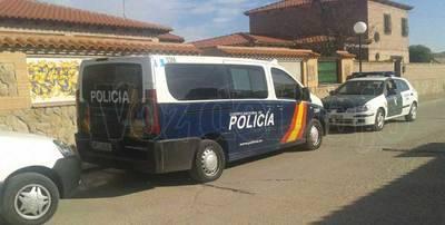 Redada antidroga de la Policía Nacional en Alcaudete de la Jara