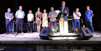 Emotivo pregón de José Julián Gregorio en Los Alcores