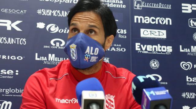 Aloisio, técnico del UD Melilla