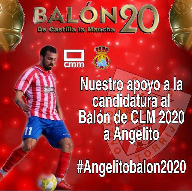 Nominado al Balón de Oro CLM 2019