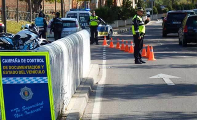 Campaña de vigilancia y control de las condiciones del vehículo en Talavera