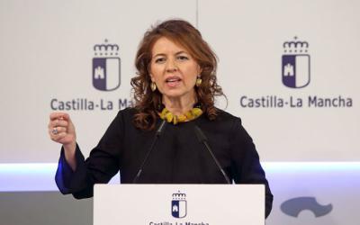 La consejera Aurelia Sánchez.