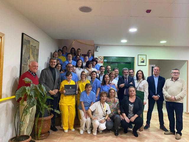 La residencia de mayores de Escalona reconocida por Mensajeros de la paz como 'Residencia del año 2019'