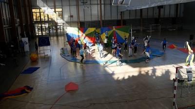 """Unos 400 alumnos convierten el JAJE en el """"mayor espectáculo del mundo"""""""