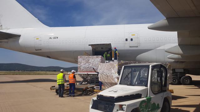 COVID-19 | La importancia del corredor sanitario del Aeropuerto de Ciudad Real con China