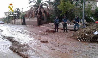 La Junta pide ayudas de emergencia tras los desastres ocasionados por la DANA