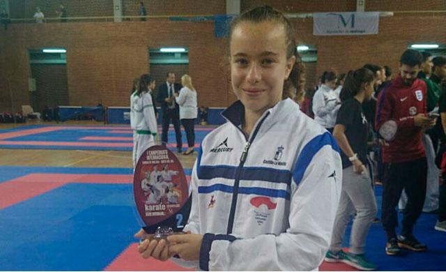 Ainara Gómez segunda en el Torneo Internacioal de Kárate 'Ciudad de Málaga'