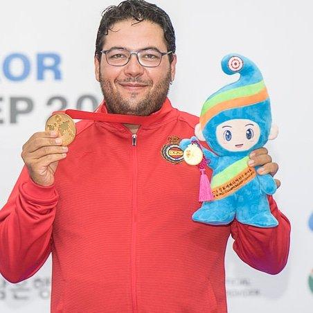 El belviseño Alberto Fernández se proclama campeón del mundo de Foso Olímpico