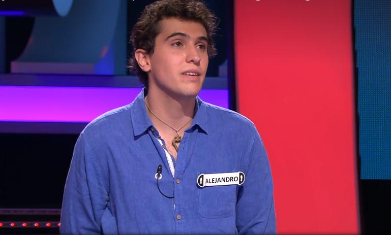 Alejandro en Ahora Caigo | Captura de pantalla
