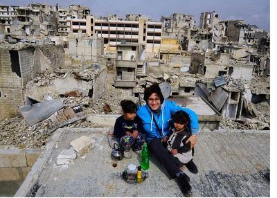 """""""Buenos días desde el cielo de Alepo"""", la exposición sobre Siria en el colegio Maristas"""