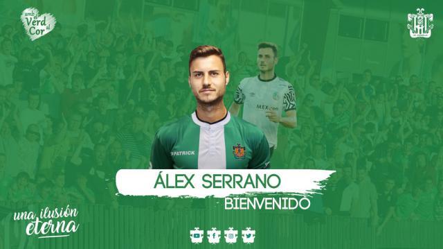 FÚTBOL | Álex Serrano tiene nuevo equipo tras dejar las filas del CF Talavera