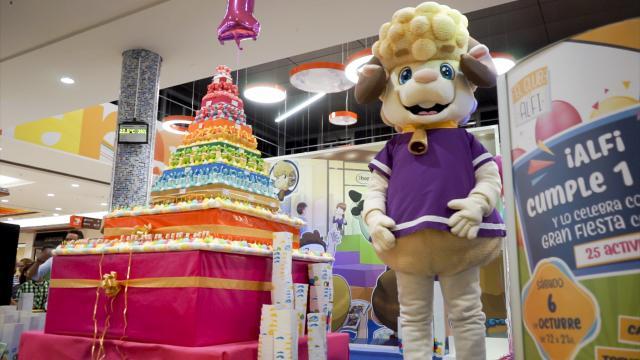 Los Alfares celebra el segundo aniversario de Alfi con actividades y regalos