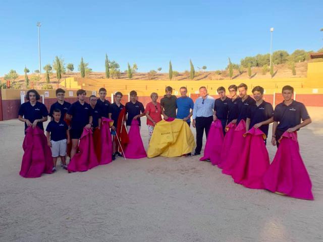 """La Asociación Cultural Taurina """"Escuela de Toledo"""" lamenta que la Diputación de Toledo les abandone"""
