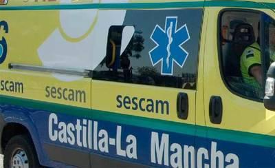 Fallece el conductor de un camión tras el vuelco del vehículo