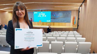 Premian la investigación de una estudiante de la UCLM Talavera