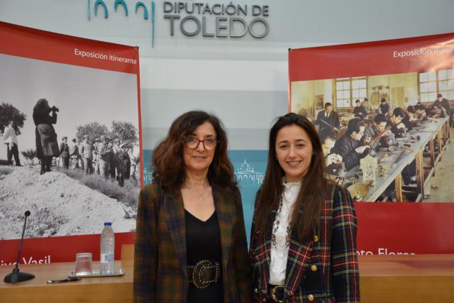 Ana Gómez y Alicia Martín.