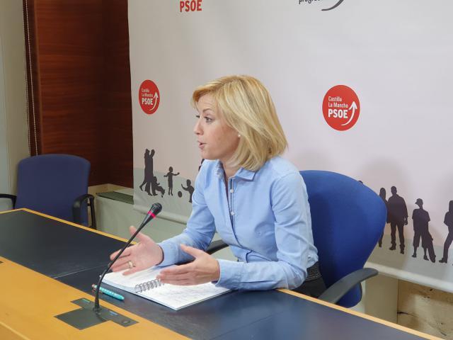 L asocialista Ana Isabel Abengózar.