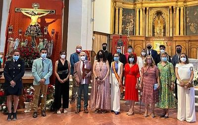 Renovación del voto al Cristo de la Caridad en la Puebla de Montalbán