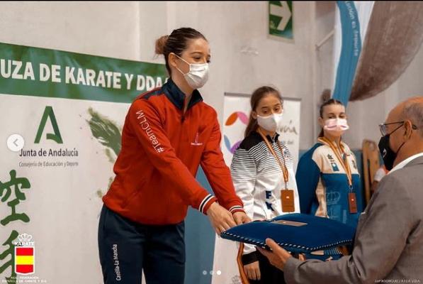 KARATE | Andrea García Jerez, la lagarterana campeona de España Sub21