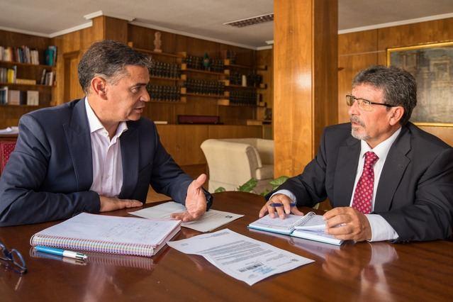 Reunión con la Agencia del Agua para tratar sobre política hidráulica e intereses hídricos de la región