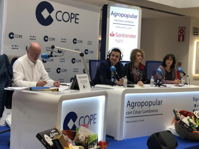Martínez Arroyo hoy en el programa 'Agropopular'.