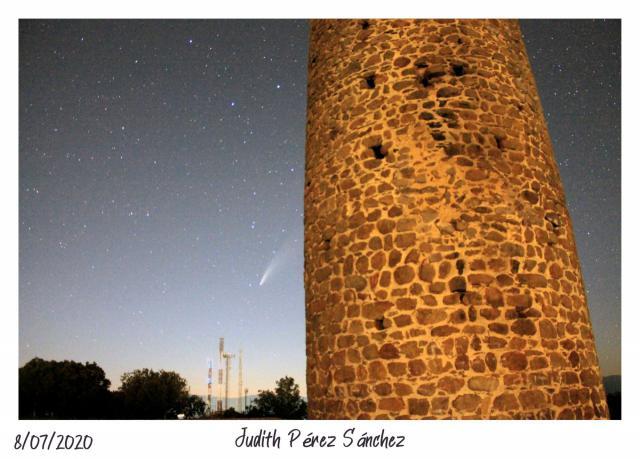 ASTRONOMÍA | Imágenes sorprendentes del cometa Neowise desde Segurilla
