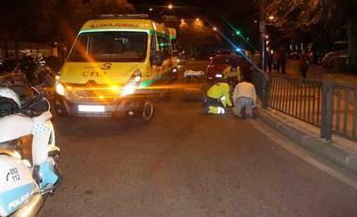 Atropello en la Avenida de Madrid de Talavera por cruzar indebidamente