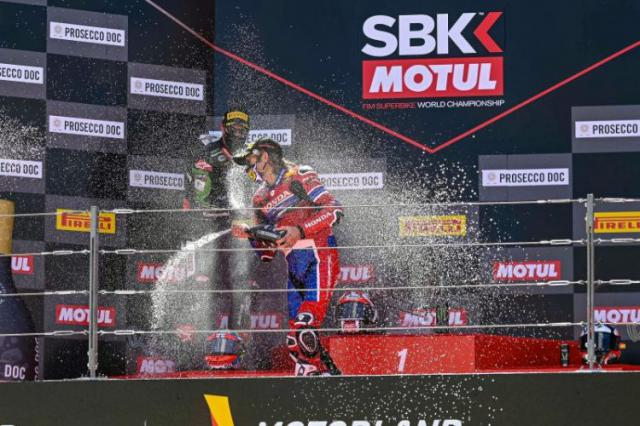 MOTOCICLISMO | Primer podio para Álvaro Bautista