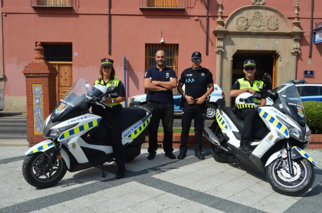 Dos nuevas motos para los Agentes de Movilidad de Talavera