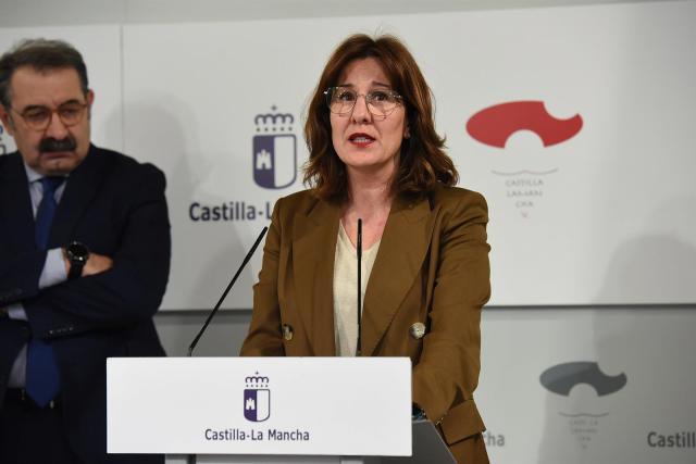 La portavoz de la Junta Blanca Fernández