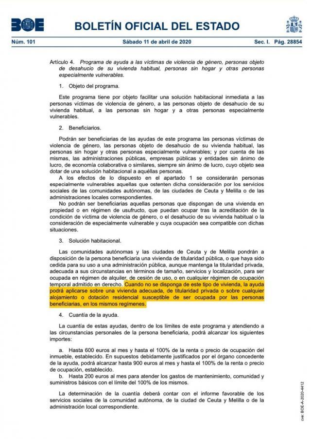 BOE   Consultamos al concejal de Urbanismo de Talavera sobre el BOE publicado hoy