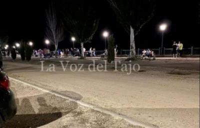 Varios jóvenes armados con palos dejan inconsciente a otro en Talavera