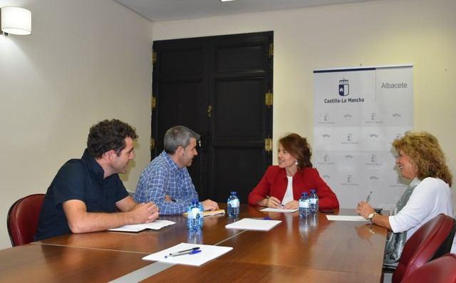 La Consejería de Bienestar Social ha comenzado una ronda de encuentros con los Colegios Profesionales de C-LM